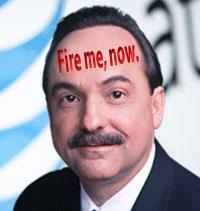 Ralph de la Vega begs AT&T shareholders to fire him