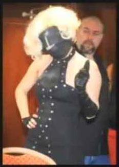 Lady GaGa in hood